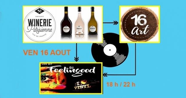 Baie de la baule Sorties, Apéro WINE & MIX 100% Vinyl Winery Parisienne