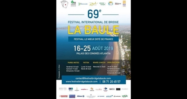 Baie de la baule Loisirs, Festival international de Bridge