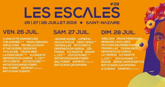 Baie de la baule Culture, Festival Les Escales #28