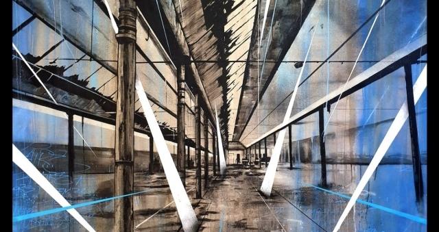 """Baie de la baule Culture, Exposition du street artiste KATRE, """"Lignes urbaines"""", jusqu'au 8 août"""