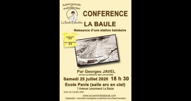 Baie de la baule Culture, naissance de la station balnéaire