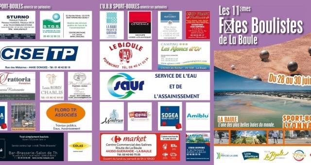 Baie de la baule Loisirs, 11ème fête bouliste de La Baule