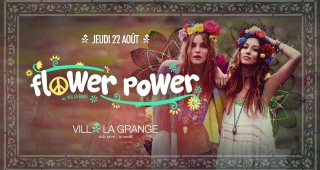 Baie de la baule Sorties, Soirée Flower Power