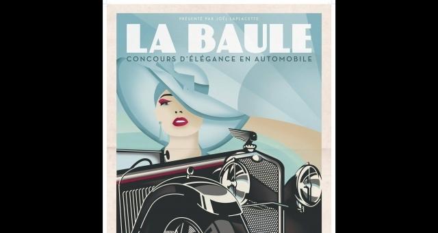 Baie de la baule Culture, Concours d'élégance en Automobile de La Baule