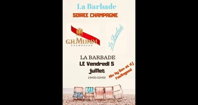 Baie de la baule Sorties, Soirée Champagne - GH Mumm - Le Bax