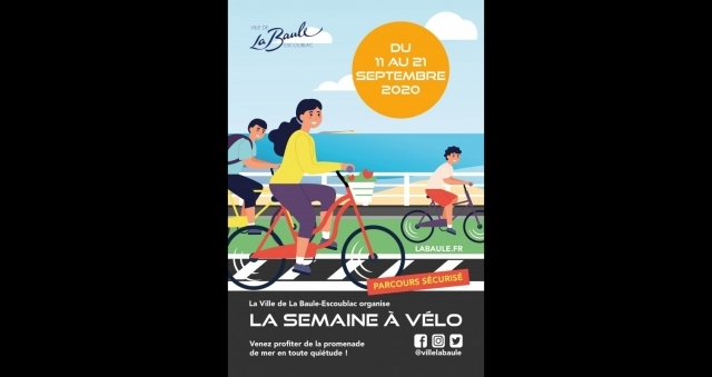 Baie de la baule Loisirs, La semaine à vélo 2020