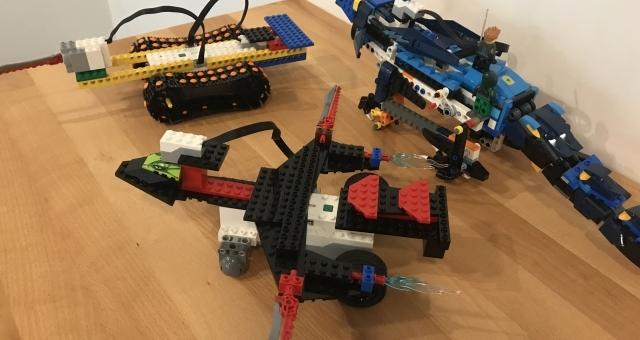 Baie de la baule Loisirs, Découverte de la robotique avec les LEGO®