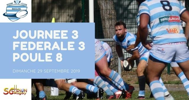 Baie de la baule Loisirs, Match de rugby - RC Baulois vs SC Chinon