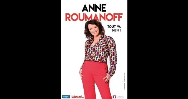 Baie de la baule Culture, Spectacle Anne Roumanoff - Tout va bien