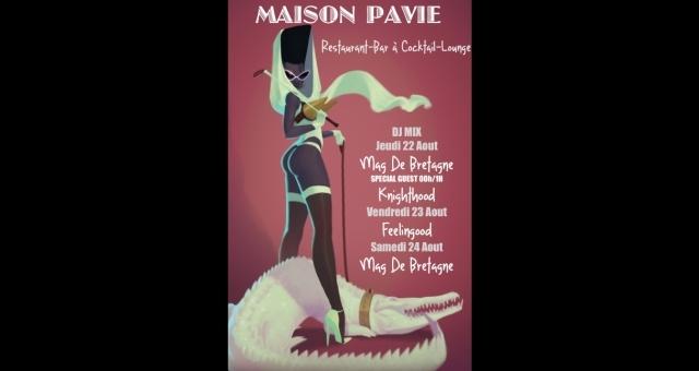Baie de la baule Sorties, WE DU 24 AOUT @ MAISON PAVIE