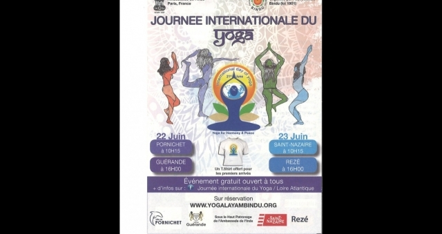 Baie de la baule Loisirs, Journée internationale du Yoga