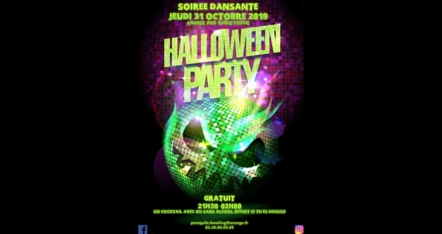 Baie de la baule Loisirs, Halloween Party