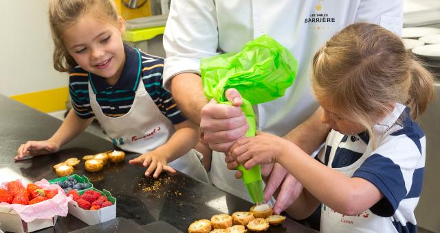 Baie de la baule Sorties, Atelier-pâtisserie pour enfants au Castel Marie-Louise