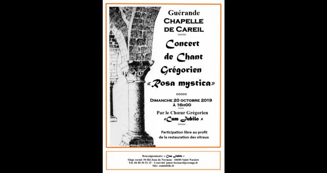 Baie de la baule Culture, Concert de chant Grégorien