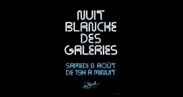 Photo annonce Nuit blanche des galeries 2020