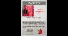Actu Porte ouverte atelier d'Art Galerie Mahé Ros - 15 décembre 2019