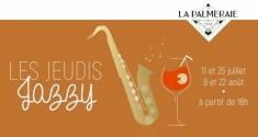 Actu Les Jeudis Jazzy - La Palmeraie