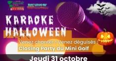 Actu Karaoké d'Halloween au Mini Golf de La Baule