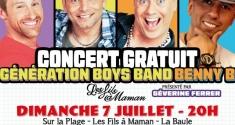 Actu Concert - Génération Boys Band