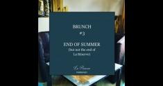 Actu Brunch #3 // End Of Summer