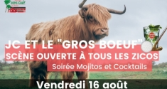 """Actu Concert - JC et le """"Gros bœuf"""""""